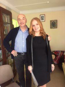 Жан Беккио и Светлана Хетрик в Санкт-Петербурге
